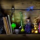 Magic Potion Bottles by Andrew Bret Wallis
