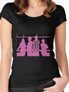 The One2s Silhouette  Women's Fitted Scoop T-Shirt