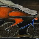 Ciclista by Jose De la Barra
