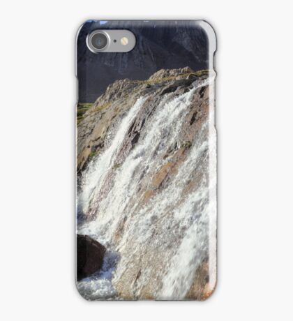 White cascades iPhone Case/Skin
