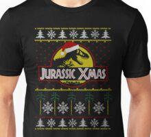 Jurassic Xmas ugly christmas sweater Unisex T-Shirt