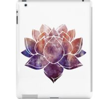 Buddhist Lotus Flower iPad Case/Skin