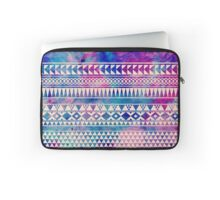 Colorful Urban Tribal Abstract Geometric Pattern Laptop Sleeve
