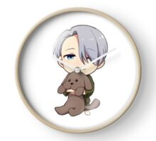 Yuri!!! on Ice Chibi Viktor 2 Clock