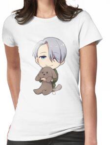 Yuri!!! on Ice Chibi Viktor 2 Womens Fitted T-Shirt
