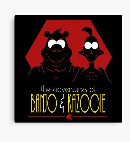 The Adventures of Banjo & Kazooie Canvas Print