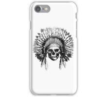 Vintage Chief Skull Design iPhone Case/Skin
