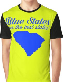 Blue Best South Carolina Democrat Election 2016 T-Shirt Graphic T-Shirt