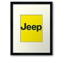 jeep Framed Print