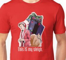 Eleventh Doctor - This IS My Sleigh Unisex T-Shirt