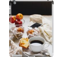 Breakfast muffins and coffee iPad Case/Skin