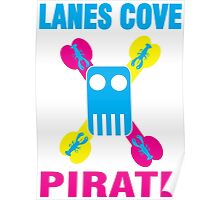 Lanes Cove Pirate CMY Poster