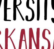 University of Arkansas Sticker
