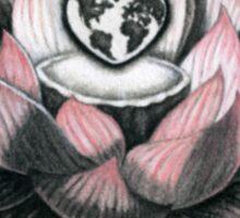 World Peace, Through Inner Peace Sticker