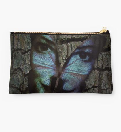 Am I A Butterfly Who Dreams About Being A Human? Studio Pouch