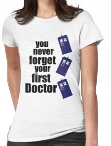 First Doctor Womens Fitted T-Shirt