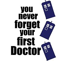 First Doctor Photographic Print