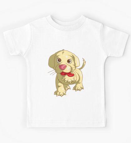 playful puppy Kids Tee