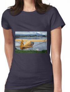 Float plane 6, Lake Hood, Anchorage, Alaska, USA Womens Fitted T-Shirt