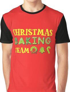 Christmas Baking Team Graphic T-Shirt