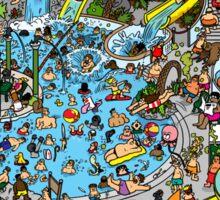 Where's the Deep Sea Diver Sticker