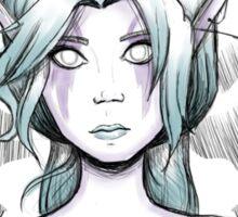 Night Elf Druid Sketch Sticker