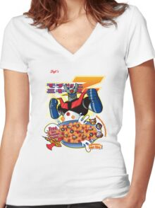 Deliciouuuzzz!!! Women's Fitted V-Neck T-Shirt