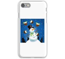 Juggling Snowman iPhone Case/Skin