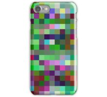 Pixel Design Pattern. Random Colored Blocks. iPhone Case/Skin