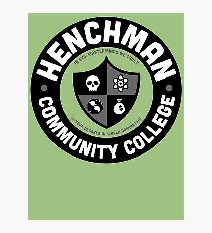 Henchman Community College Photographic Print