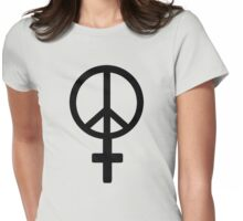 Peace Female Symbol - Replica From Murdered Soul Suspect  Womens Fitted T-Shirt