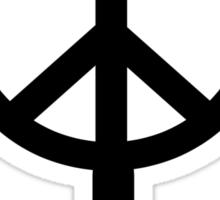 Peace Female Symbol - Replica From Murdered Soul Suspect  Sticker