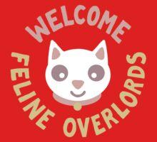 Welcome Feline Overlords One Piece - Long Sleeve