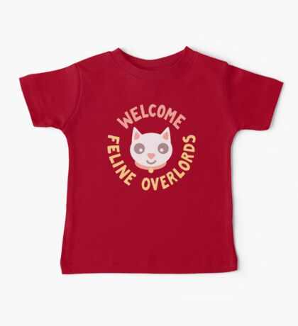 Welcome Feline Overlords Kids Clothes