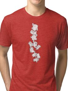 Adipose Hanging Out Tri-blend T-Shirt