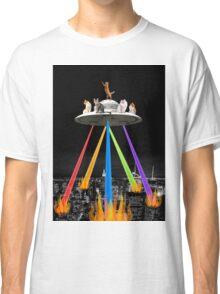 CAT INVADERS Classic T-Shirt