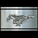 metallic Chrome Silver Stallion  by ALIANATOR