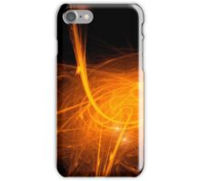 152 - Neon wire art iPhone Case/Skin