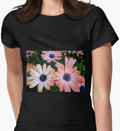 African Daisies Zion 'Copper Amethyst' Womens Fitted T-Shirt