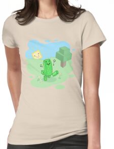 Good Morning, Mr. Creeper! Womens Fitted T-Shirt