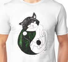 This is one peaceful cat! Unisex T-Shirt