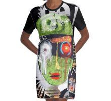 go green Graphic T-Shirt Dress