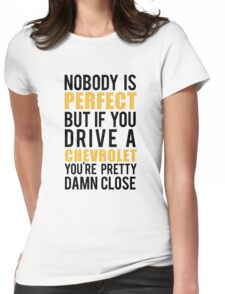 Chevrolet Owners Womens Fitted T-Shirt
