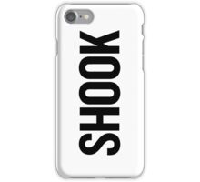 Shook 2 (Black) iPhone Case/Skin