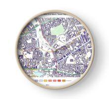 Multiple Deprivation Mile End ward, Tower Hamlets Clock