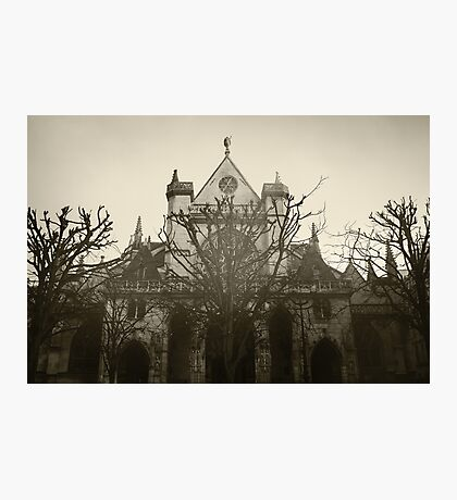 The Church of Saint-Germain l'Auxerrois, Paris Photographic Print