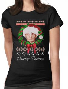 Classic Murray Christmas  Womens Fitted T-Shirt