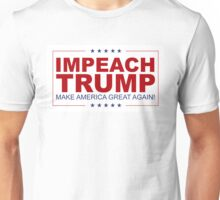 Impeach Trump Unisex T-Shirt