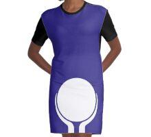 Earthsign (blue) Graphic T-Shirt Dress