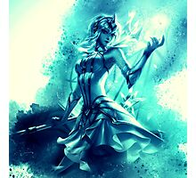 Elementalist Lux Water Photographic Print